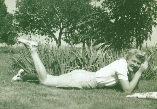 Violet (Klaman) Ritten - my grandmother